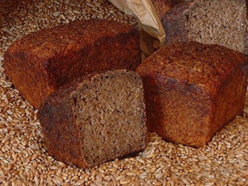 Bio Demeter Lebenskeimbrot - Dinkelkeimbrot aus gekeimten Bio Dinkel - gebacken ohne Weizenmehl, Hefe und Sauerteig - qualitativ hochwertiges und eiweißreiches Dinkelbrot - Inhalt: 500 Gramm Dinkelvollkornbrot