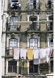 Robert Harding A1 Poster of Facade of a house in the Moorish quarter of Alfama (1185981)