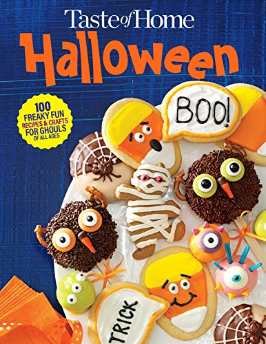 Taste of Home Halloween Mini Binder: 100+ Freaky Fun Recipes & Crafts for Ghouls of All Ages (Kid Foods Fun Halloween-party)