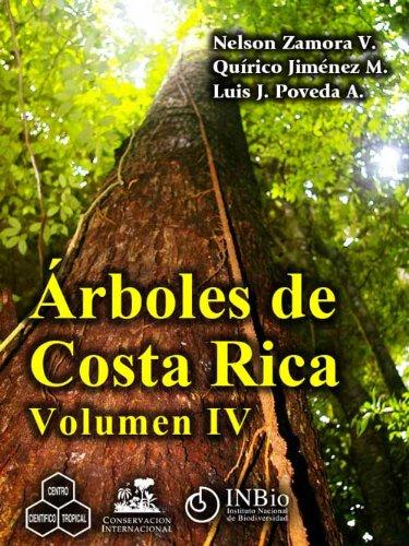 Árboles de Costa Rica vol. IV de [Zamora, Nelson, QuÃrico Jimé