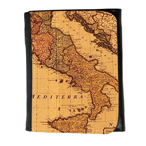 Portemonnaie Geldbörse Brieftasche // V00002382 Antike Karte Italien // Small Size Wallet (Karten Italien Antike)