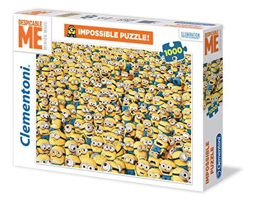 Preisvergleich Produktbild Clementoni 31450.8 - Puzzle Minions Impossible, 1000 Teile