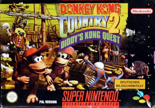 Donkey Kong Country 2: Diddy Kong\'s Quest