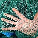 Mitefu Filet Polyvalent en polyéthylène pour Jardin Espalier volailles Anti-Oiseaux Terrain de Tennis, 6 brins