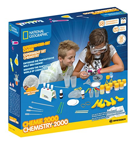 NATIONAL GEOGRAPHIC 9130600 NATIONAL GEOGRAPHIC EXPERIMENT SET CHEMISTRY 2000