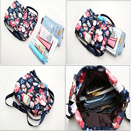 Damen Schulrucksack, ACMEDE Leder Rucksack Arbeitsrucksack Top-Modell Schultasche Freizeitrucksack für Damen & Mädchen ( Schwarz ) Wein Rot