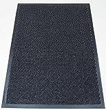 KangROOS rutschfeste Gummi Outdoor Boden Matte, Eingang Barriere Teppiche Home Küche Büro Tür Tischläufer in alle Farben und Größen 40x 60/60x 90/60x 180/90x 150/120x 180, grau, 120x180 CM
