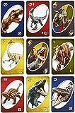 Mattel FLK66 Jurassic World UNO Spiele von Mattel