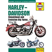 Harley-Davidson Shovelhead & Evolution Big Twins: 1970-1999 (Haynes Service and Repair Manual)