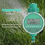 GLOGLOW Elektronische Wi-Fi-Fernbedienung Automatische Gartenbewässerung Timer Intelligente Blumenbewässerung