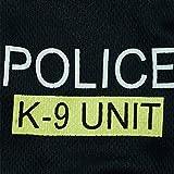 Hunde Kleidung Hundebekleidung Police Vest T-Shirt Hundeshirt Schwarz XS/S/M/L - 5