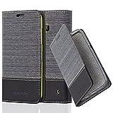 Nokia Lumia 630 / 635 Hülle in GRAU SCHWARZ von Cadorabo -