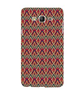 PrintVisa Designer Back Case Cover for Samsung Galaxy On5 (2015) :: Samsung Galaxy On 5 G500Fy (2015) (Girly Pattern Tribal Floral Fabric Culture Rajastan Andhra)