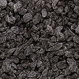 Lava Mulch Anthrazit grau 16-32 mm 20 Liter Sack Boden bleibt frisch & wird vor Austrocknung geschützt - Abdeckmaterial dauerhaft dekorativ