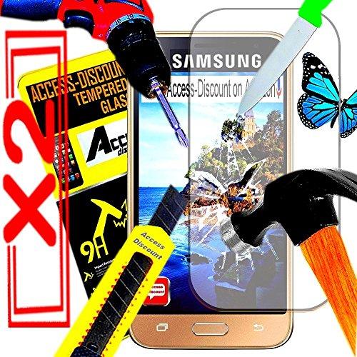 Accessoires De qualite pour SMARTPHONE SAMSUNG GALAXY A5 2017 A520F A5-7 UNIQUEMENT (Lot deux verre trempe)