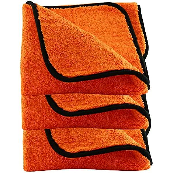 Liquid Elements Orange Baby Trockentuch 3 Stk Küche Haushalt