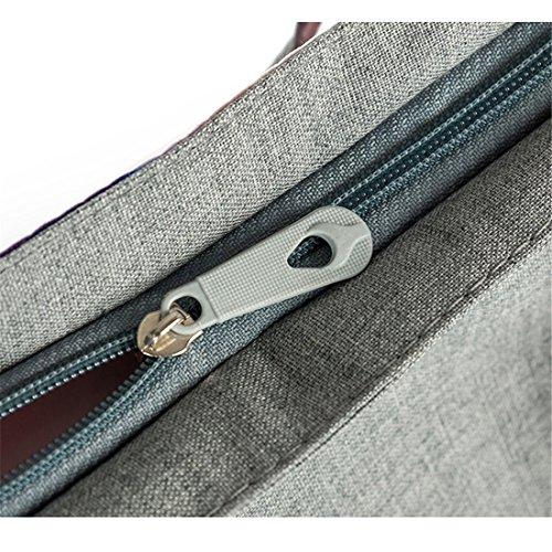 ECYC® Elephant Travel Frauen Shopping Handtasche Schultertasche Reißverschluss Tasche E