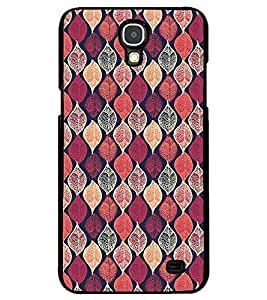 Printvisa Pink Assorted Leaves Pattern Back Case Cover for Samsung Galaxy Mega 2::Samsung Galaxy Mega 2 LTE::Samsung Galaxy Mega 2 G750F