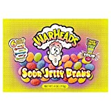 Warheads Sour Jelly Beans 4 oz (1 Pc)