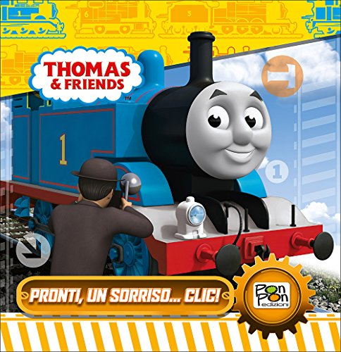Pronti per un sorriso. clic! Thomas & friends. Ediz. illustrata