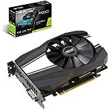 ASUS GeForce PH-GTX1660TI-O6G Gaming Grafikkarte (Nvidia Turing, Phoenix, PCIe 3.0, 6GB GDDR6 Speicher, HDMI, DVI, DisplayPort)