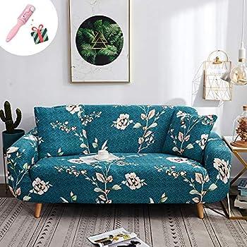 Einfarbig 1-Sitzer Elastische Stretch Sofabezüge Sofahusse Hussen