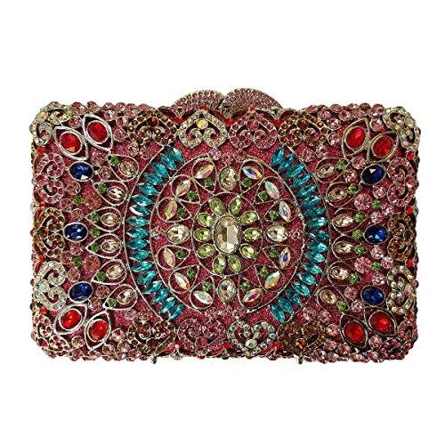 Damen-Luxus-Diamant-Abendtasche High-End-Bankett-Tasche L