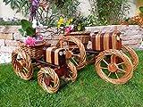 2 x Traktor Bulldog 60 + 45 cm XL, aus Korbgeflecht, Korbmaterial wetterfest**, WITZIGE GARTENDEKO, ideal als Pflanzkasten, Blumenkasten, Pflanzhilfe, Pflanzcontainer, Pflanztröge, Pflanzschale, Rattan, Weidenkorb, Pflanzkorb, Blumentöpfe, Holzschubkarre, Pflanztrog, Pflanzgefäß, Pflanzschale, Blumentopf, Pflanzkasten, Übertopf, Übertöpfe, , Holzhaus Pflanzgefäß, Pflanztöpfe Pflanzkübel