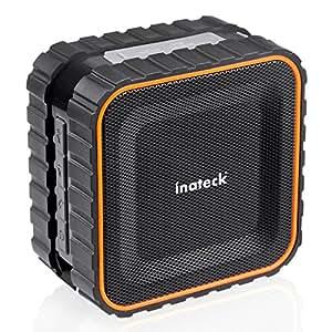 Inateck - Altoparlante Impermeabile da Doccia, Resistente all'acqua, Bluetooth