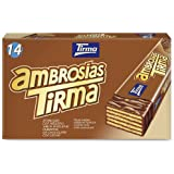 Tirma Ambrosía Chocolate con Leche y Avellana, 14 Unidades x 21.5g, 301 g