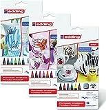 Edding 4200Porzellan Bürste Ben 1–4mm verschiedene Farben erhältlich Alle 3 Sortierungen