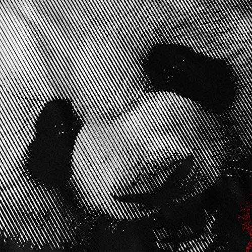Disko Panda Tier Musik Kopf Damen Schwarz S-2XL Muskelshirt | Wellcoda Schwarz