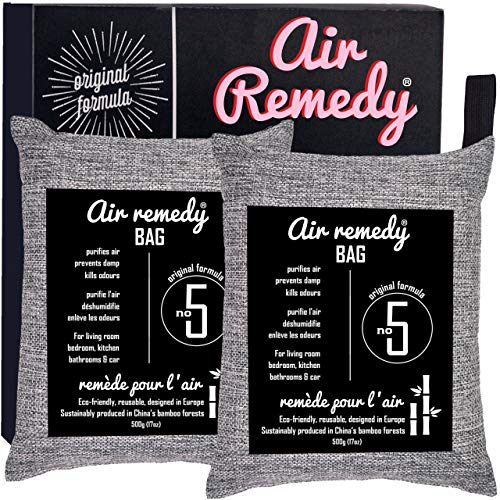 Air Remedy Bag - Bolsa purificadora aire carbón