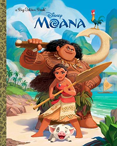 Moana Big Golden Book (Big Golden Books) por Random House Disney