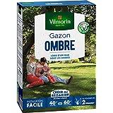 Vilmorin 4466514 Gazon Ombre, Vert, 1 kg