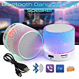 GKP Products ® Mushroom Rechargeable Portable Bluetooth Speaker With SD Card Slot And FM Compatible For All Android/Iphone Mobiles - Assorted Color