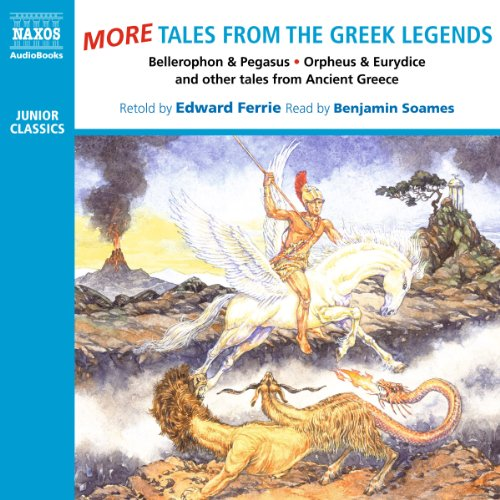 More Tales from the Greek Legends  Audiolibri