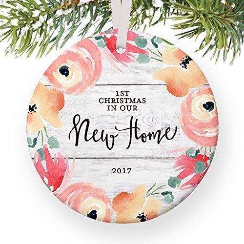 Weihnachten Ornament Handwerk Our First Christmas, wie MR & MRS blau Lichter Hochzeit Geschenk für Braut und Bräutigam Brautpaar Mann und Frau Weihnachtsbaum Dekorationen Jahrestag Geschenk