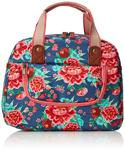 Basil Bloom-Carry All Fahrrad-Tasche  Bloom Girls-Carry All Bag, Blau(Indigoblau), 32 x 10 x 25 cm, 11 Liter, 17632
