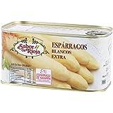 Sabor De Rioja - Espárragos Blancos Extra Gruesos – Espárrago de Navarra – 6/8 unidades - 0,780 Kg.