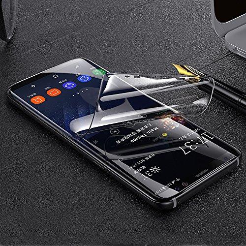 ONICO Folie Für Samsung Galaxy Note 8 Bildschirm Schutzfolie (Nicht Panzerglas),3D Selbstheilung Schutzfolie Kompatibel mit Hülle Vollständige Abdeckung (Vorne HD)