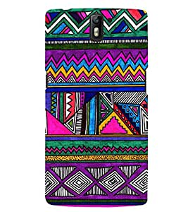 printtech Pattern Back Case Cover for One Plus One::One Plus1