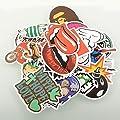 (Pack of 100) Stickers Skateboard Snowboard Vintage Vinyl Sticker Graffiti Laptop Luggage Car Bike Bicycle Decals Mix Lot Fashion Cool