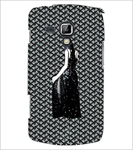 PrintDhaba Mystry Girl D-3002 Back Case Cover for SAMSUNG GALAXY S DUOS 2 S7582 (Multi-Coloured)