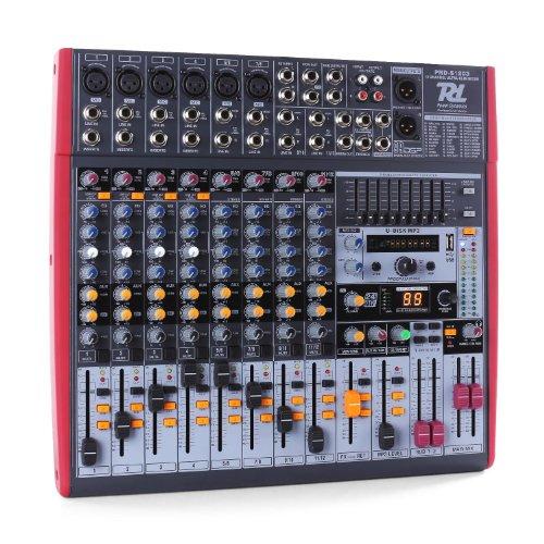 Power Dynamics PDM-S1203 Mixer 12 canali USB DSP MP3