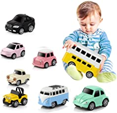 Puzzle Rennwagen Kinder Spielzeugauto Pull-Back Fahrzeug Legierung Puzzle Q Version Mini Auto Modell Für 3-14 Jahre Alt 8 Teile/schachtel