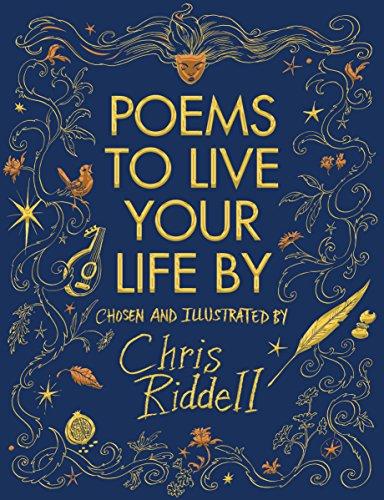 Buchseite und Rezensionen zu 'Poems to Live Your Life By' von Chris Riddell