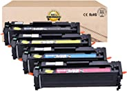Compatible Toner Cartridges Replacement for CANON 054H CRG054 Toner Cartridge for CANON I-SENSYS MF640C MF641CW MF642CDW MF6