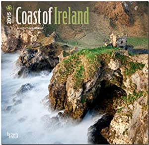 Coastline of Ireland 2015 Wall Calendar