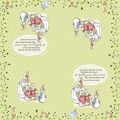 Servietten »Frühlingsreigen« (Beatrix Potter Frühling)